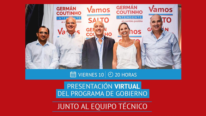Presentación virtual del Programa de Gobierno de Germán Intendente