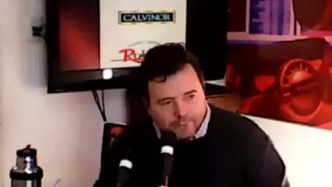 """Mariano Casola: """"los ediles recién tenemos información cuando la casa está incendiada""""."""
