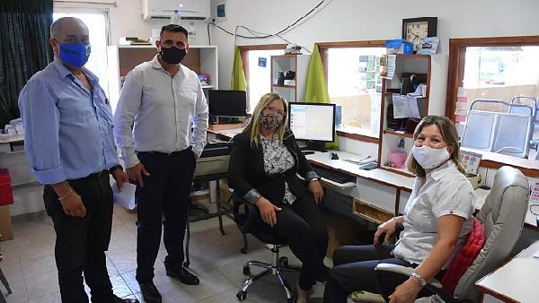 División Ómnibus de la Dirección de Movilidad Urbana informa sobre una nueva línea de contacto